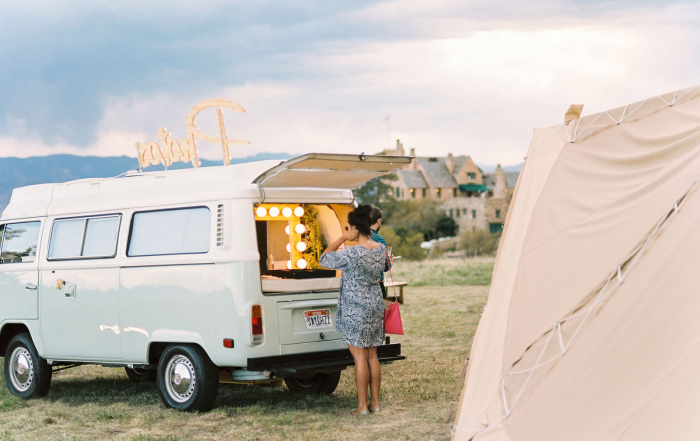 photo booth rental utah colorado volkswagen bus