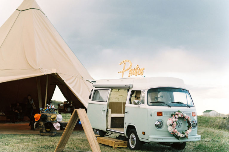 vw bus photo booth rental utah colorado